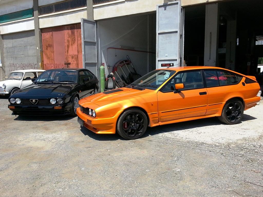 Alfa Romeo Giulia 2014 >> GTV6 and 75 17inch wheels | EB Spares News